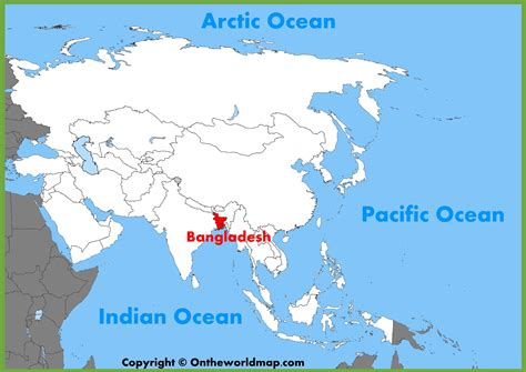 where is dhaka on the world map bangladesh location on the asia map