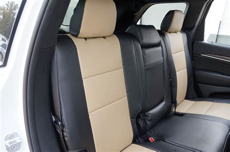 jeep grand leather seats jeep grand 2011 2015 iggee s leather custom fit seat cover 13colors ebay
