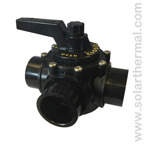 3 Way Valve 1 5 praher black pvc 3 way manual valve 1 5 quot ports