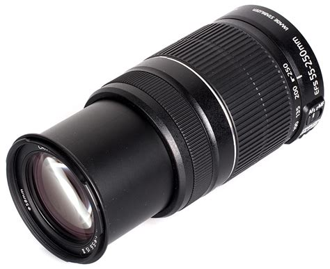 Lensa Zoom Canon 55 250mm canon ef s 55 250mm f 4 5 6 is ii lens review