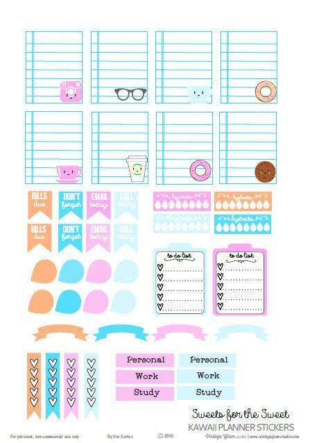 printable planner kawaii 25 best ideas about kawaii planner on pinterest planner
