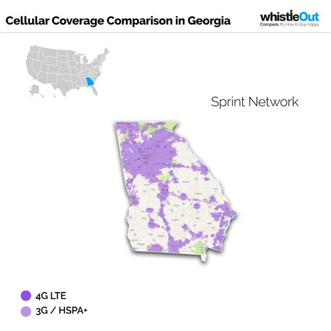sprint usa coverage map best cell phone coverage in whistleout
