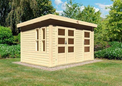 Garten Kaufen Prenzlau karibu gartenhaus 187 prenzlau 171 bxt 398x273 cm mit 28 mm