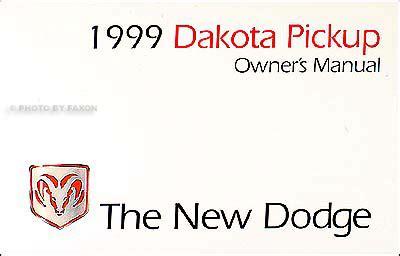 best auto repair manual 1999 dodge dakota user handbook 1999 dodge dakota pickup truck original owner s manual