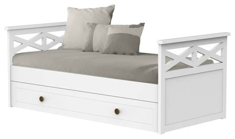 trundle bed without headboard aspas single trundle bed contemporary day beds by