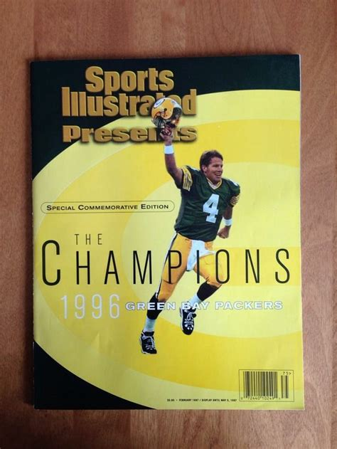 sports on pinterest 20 pins sports illustrated 1996 green bay packers special edition