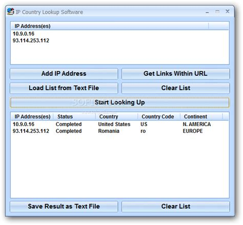 Ip Addresses Lookup Ip Address Locator Tool Softinternational16