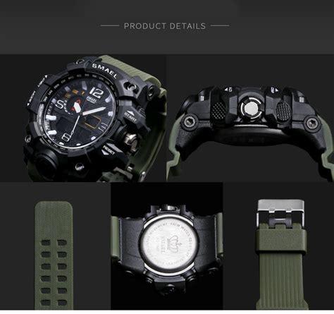 Smael Jam Tangan Digital Luminous smael jam tangan digital luminous 1545 black orange