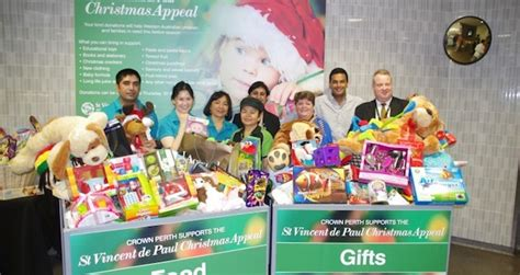 crown perth s christmas appeal hotel management