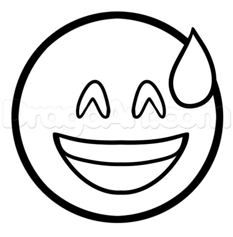 apple emoji coloring pages how to draw the embarrassed emoji step by step symbols