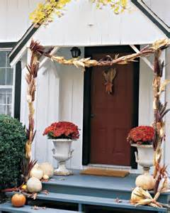 fall harvest decorating martha stewart