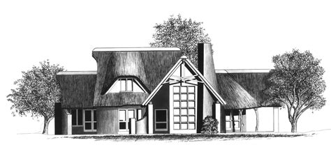 Thatched House Plans The Architect Karter Margub And Thatched Roof House Plans