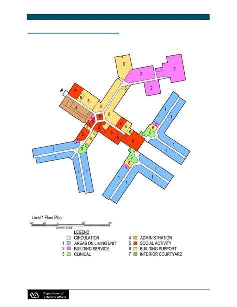 Nursing Home Design Guide Western Kentucky Veterans Center Cont Nursinghome0243