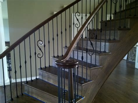 iron banister rails iron balusters and railings denver colorado parker
