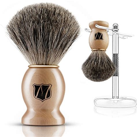 Gucci Facelift Chrome Import Shoes miusco badger hair brush and stand set chrome import it all