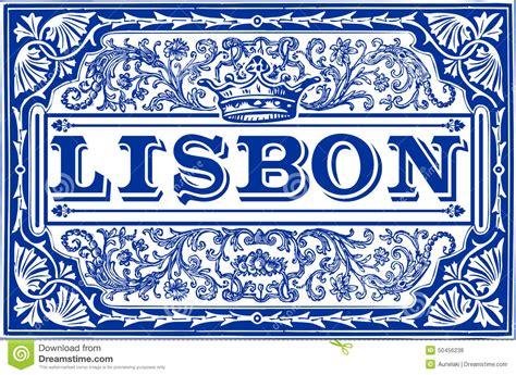 Adobe House Plans traditional tiles azulejos lisbon portugal stock vector
