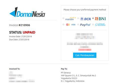Domain Email Bank Mandiri