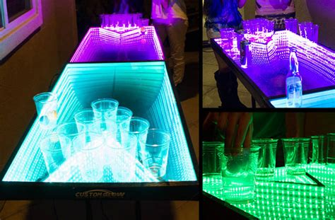 light up ping pong table light up the with led ping pong tables ledinside