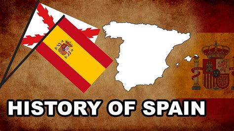 a history of spain history of spain the spanish animated history in a nutshell youtube