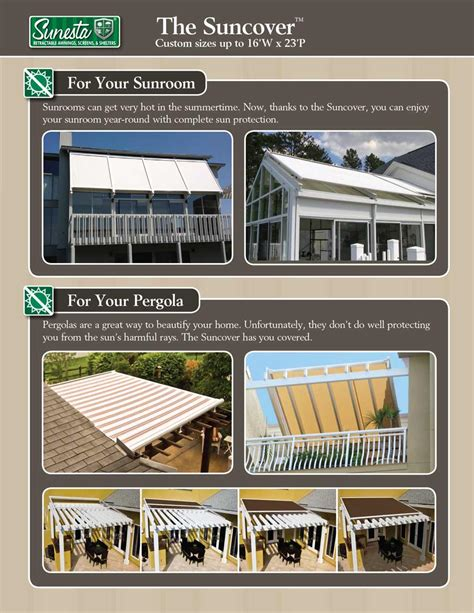 carroll awning company how to beat the heat with suncovers carroll awning