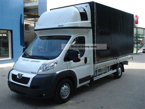 Box Truck With Sleeper by Peugeot Boxer 3 0 Hdi 180hp Sleeper Standhz 2011 Box