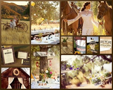 Country Vintage Wedding Ideas Photograph   Western Wedding T