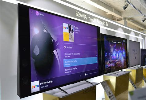 Tv Lcd Android sony unveils 2015 bravia tvs brings support for android