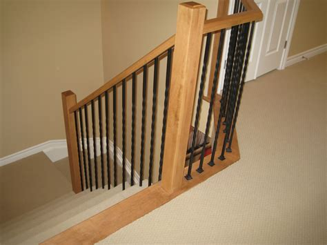 wrought iron spindles for staircase with grotesque