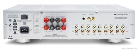 Cambridge Audio Azur 650a Manual Stereo Integrated
