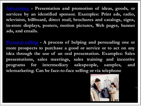 Advertising Personal Selling Coupons And Sweepstakes Are Forms Of - promotion mix sales promotion and personal selling