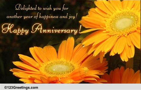 Wedding Anniversary Quote To The Elders by Wedding Anniversary Free To A Ecards Greeting