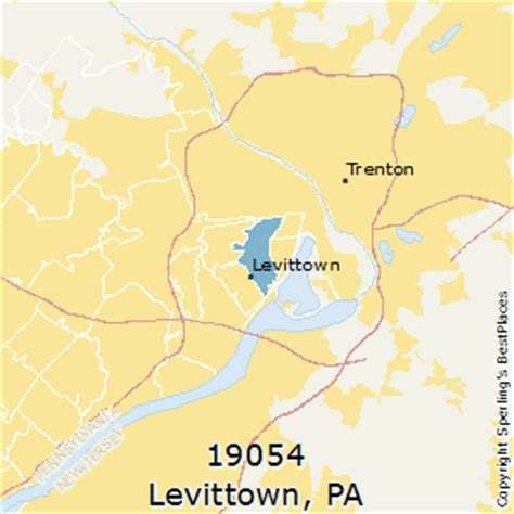 best places to live in levittown zip 19054 pennsylvania