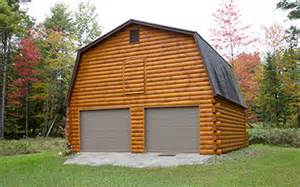 Log Garage Designs coventry log homes our log home designs tradesman series the