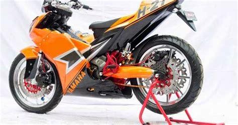 Lu Hid Motor Mx modifikasi motor jupiter mx 135 cw curan otomotif