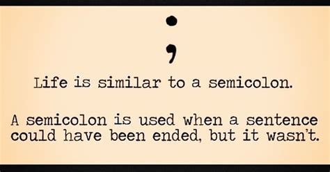 semicolon tattoo raises awareness about mental illness