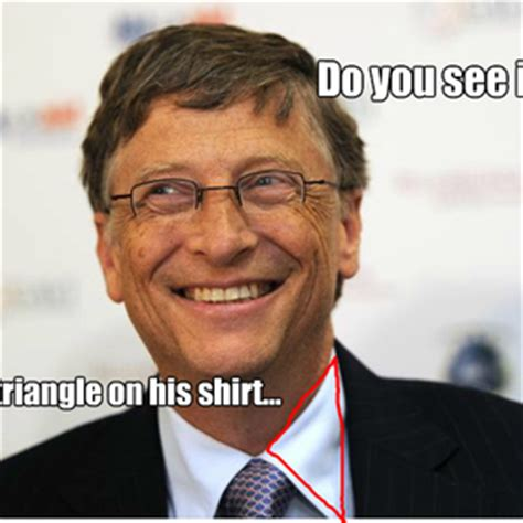 illuminati bill gates meme center zackattacksmc profile