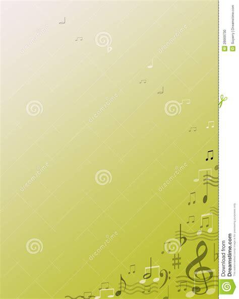 printable music stationery music note stationery background gift stock photo image