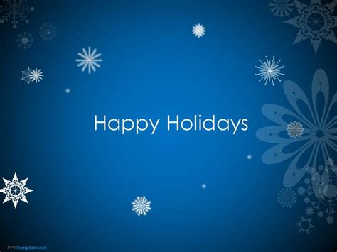 animated card powerpoint template free animated happy holidays ppt template
