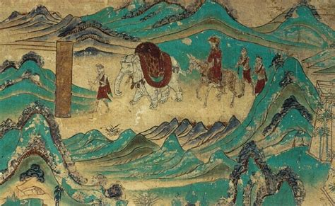 Photographic Wall Murals file xuanzang returned from india dunhuang mural cave