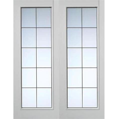 Transparent Garage Door by Jb Decima Grained White Primed Pair Emerald Doors