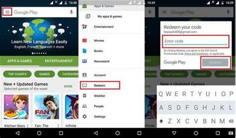 Google Play Store Gift Card Singapore - hướng dẫn c 225 ch đổi google play gift cards