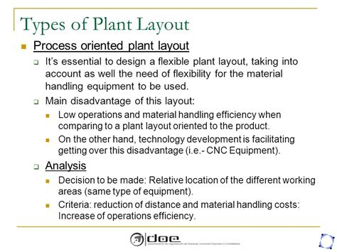 types of plant layout facility layout planning ppt download