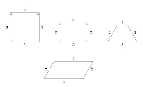 Drawing Quadrilaterals by Illustrative Mathematics