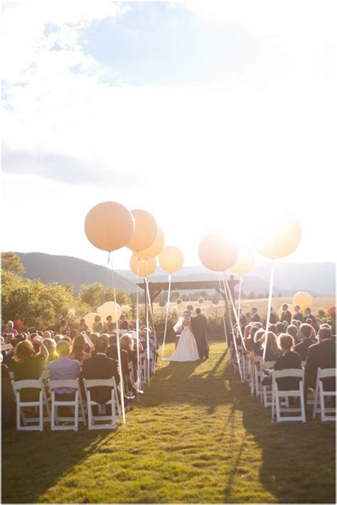 Wedding Aisle Balloons 16 wedding decoration ideas with balloons page