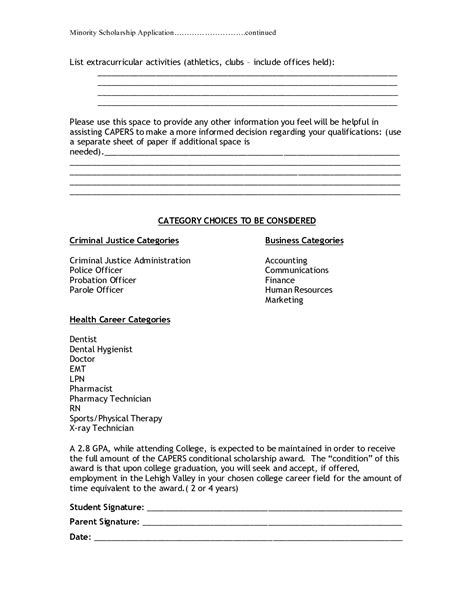 extracurricular activities list on resume resume ideas