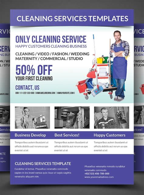 Cleaning Company Flyer Template 26 Cleaning Flyers Psd Ai Eps Download