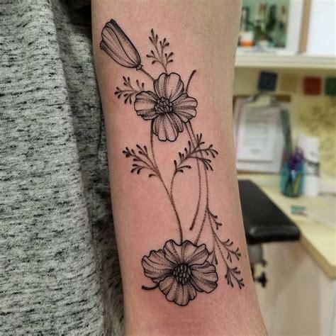 california poppy tattoo best 25 california poppy ideas on