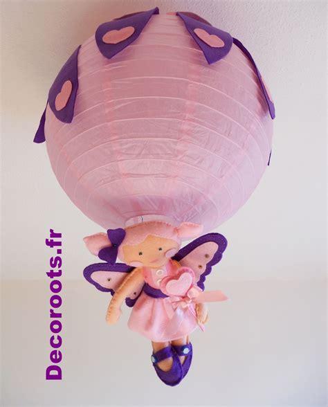 Lustre Fille lustre enfant b 233 b 233 fille coeur violet et quot la f 233 e des