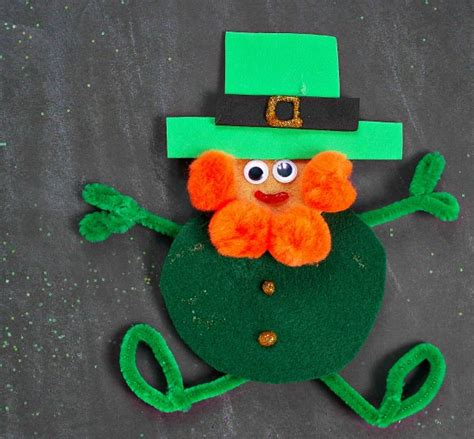 leprechaun crafts for easy leprechaun felt craft