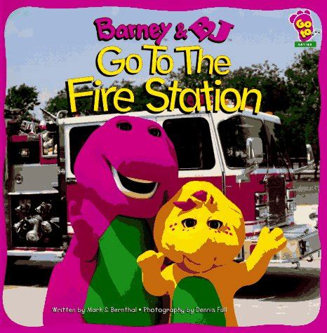 one station away a novel books barney and bj go to the station barney and friends